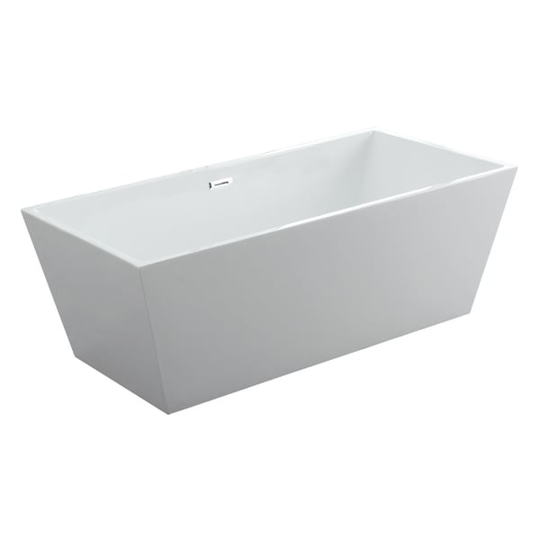 Athena 60 X 30 Freestanding Acrylic Bathtub White