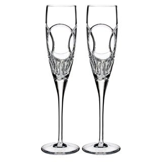 Waterford Love Wedding Vows Flute Pair
