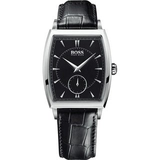 Hugo Boss Men's 1512845 Black Leather Watch