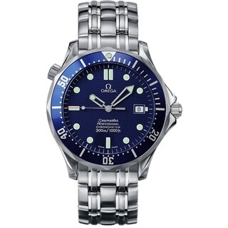 Omega Men's 2531.80.00 'Seamaster James Bond 007' Automatic Stainless Steel Watch