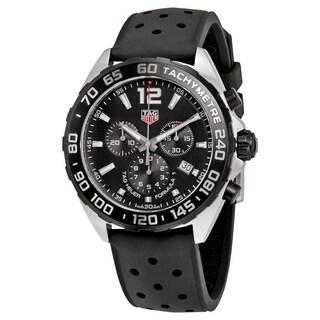 Tag Heuer Men's CAZ1011.FT8024 'Formula 1' Chronograph Black Rubber Watch