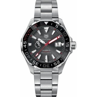 Link to Tag Heuer Men's WAY201D.BA0927 'Aquaracer' Automatic Stainless Steel Watch Similar Items in Men's Watches