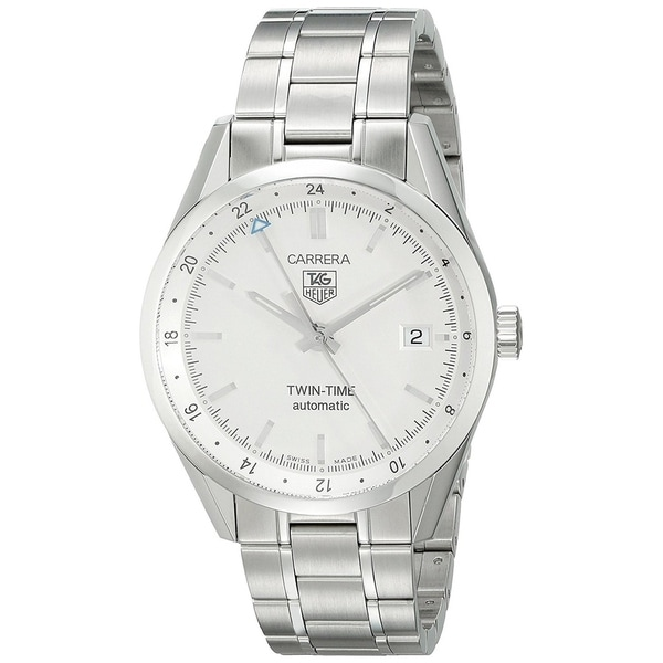 14cafb71060 Shop Tag Heuer Men's WV2116.BA0787 'Carrera' Automatic Stainless ...