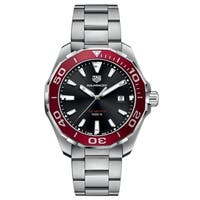 Tag Heuer Men's WAY101B.BA0746 'Aquaracer' Stainless Steel Watch