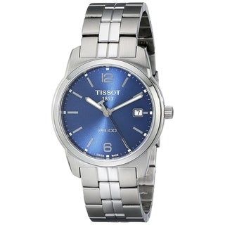 Tissot Men's 'PR 100' Stainless Steel Watch