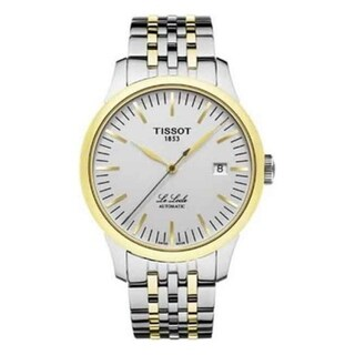 Tissot Men's 'Le Locle' Automatic Two-Tone Stainless Steel Watch