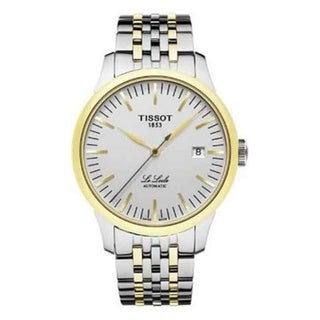Link to Tissot Men's T41248331 'Le Locle' Automatic Two-Tone Stainless Steel Watch Similar Items in Men's Watches
