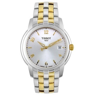 Tissot Men's 'Balade III' Two-Tone Stainless Steel Watch