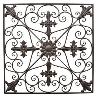 Three Hands Metal Wall Decoration