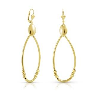 Gold Plated Dangling Earrings