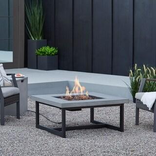 Shop Galleon Steel 50 000 Btu 20 Pound Gas Fire Table