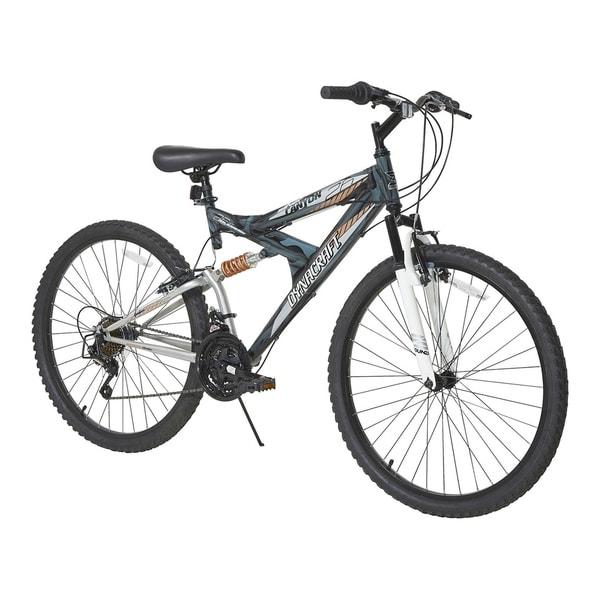 "26"" Dynacraft Silver Canyon Bike. Opens flyout."