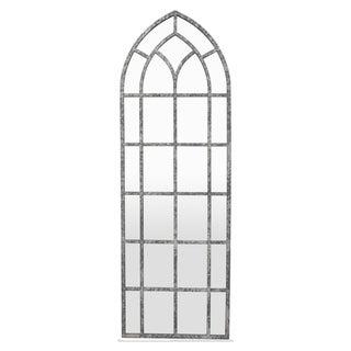 Three Hands Metal Wall Decor Mirror - Gold - 13.75 X 0.5 X 41.5