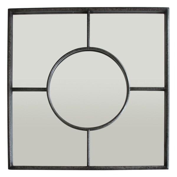 Three Hands Metal Wall Mirror Decoration - Gold - 31.5 X 1.25 X 31.5