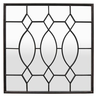Three Hands Metal Wall Mirror Decoration - Modern & Contemporary - 31.5 X 1 X 31.5
