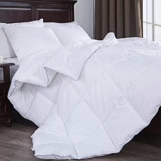 St. James Home Down Alternative Comforter with Grey Edge