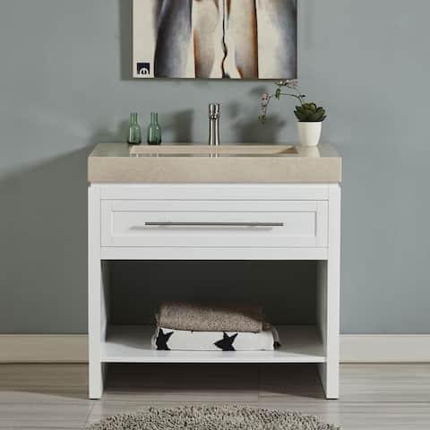 Buy 36 Inch Bathroom Vanities Vanity Cabinets Online At Overstock