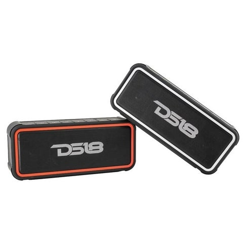 DS18 STORM-R FULLY Waterproof Portable Bluetooth Speaker,10-Hour Playtime,Perfect Wireless Speaker for iPhone or Samsung