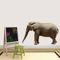 Real Life Elephant Printed Wall Decal