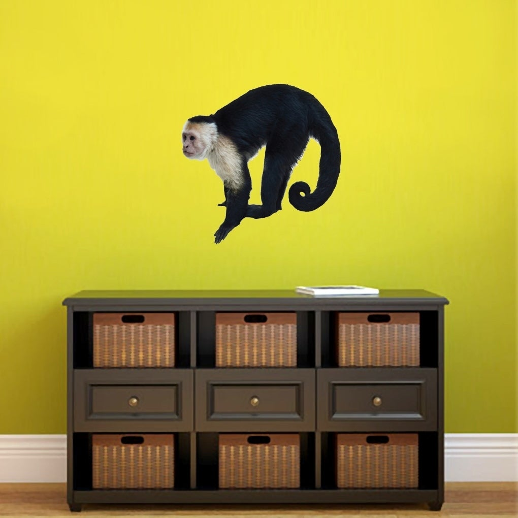Real Life Monkey Printed Wall Decal Overstock 22305537