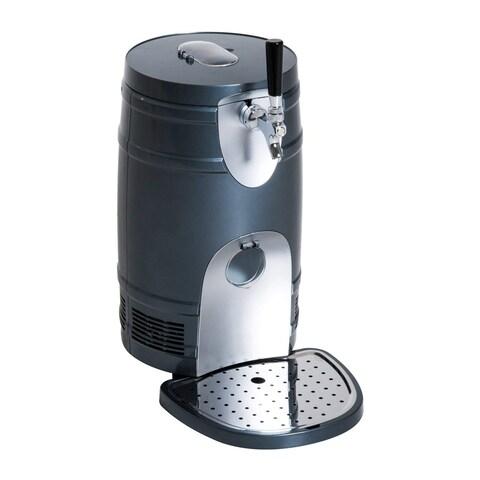 HomCom 5 Liter Mini Portable Kegerator Beer Cooler Dispenser