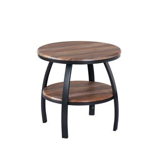 Emerald Home Carson Natural Wood End Table