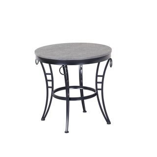 Emerald Home Emmerson Gray Round End Table