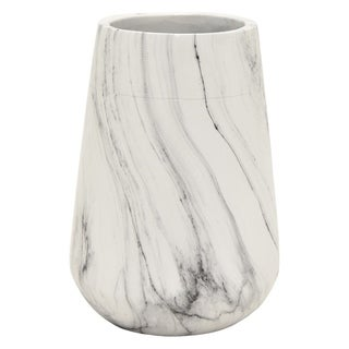 Three Hands Marble Look Vase
