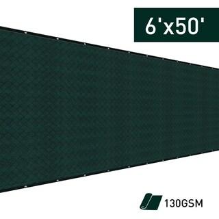 Outsunny 6' x 50' Sun Shade Backyard Privacy Fence Kit