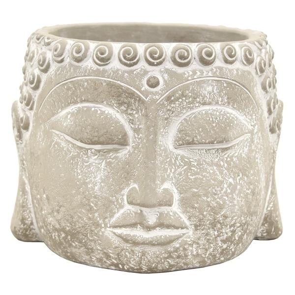 Three Hands Buddha Face Flower Pot