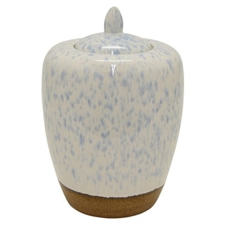 Three Hands Ceramic Jar