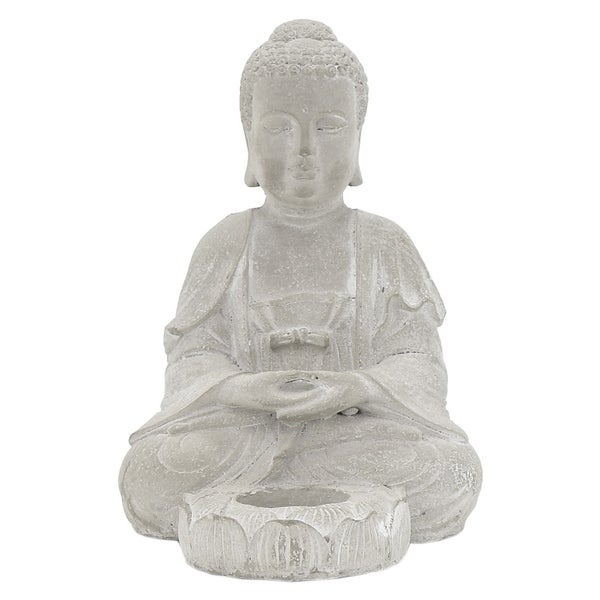 Three Hands Buddha With Candle Holder