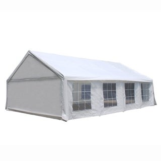 ALEKO Outdoor Sun Canopy Gazebo with Windows 20 x 30 feet