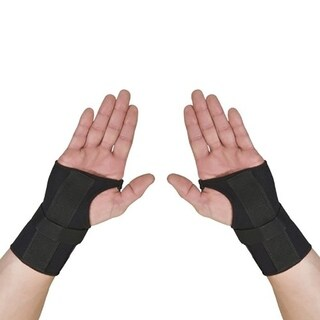 Thermoskin Carpal Tunnel Left & Right Braces with Dorsal Stay Black