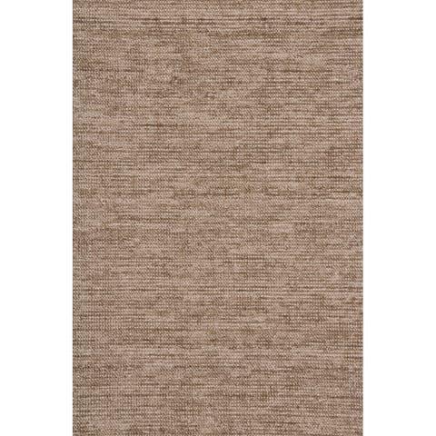 "Grand Bazaar Mazen Coffee Wool Blend Area Rug - 5'6"" x 8'6"""