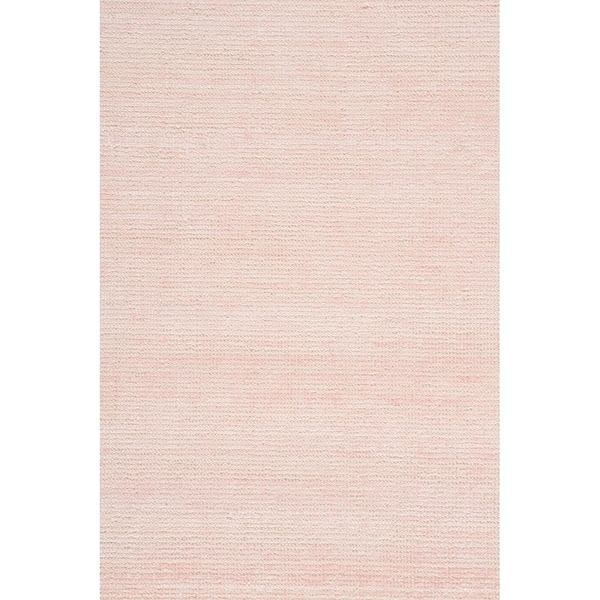 "Grand Bazaar Mazen Blush Cotton, Wool, and Viscose Handmade Area Rug - 5'6"" x 8'6"""