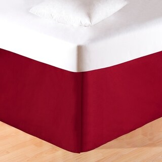 Rustic Red Platform 18-inch Drop Bed Skirt (3 options available)