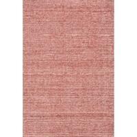 """Grand Bazaar Mazen Deep Red Handmade Area Rug - 9'6"""" x 13'6"""""""