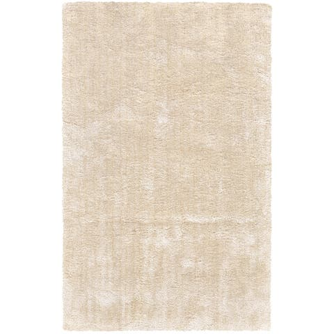 "Grand Bazaar Uzuri Cream Cotton Area Rug - 9'6"" x 13'6"""