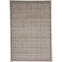 "Grand Bazaar Pellaro Pewter/ Light Gray Area Rug - 1'9"" x 2'10"""