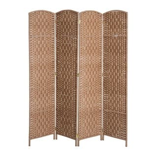 af4322181af7 Buy 4 Panel Room Dividers   Decorative Screens Online at Overstock ...