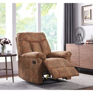 ProLounger Wall Hugger Recliner in Paisley