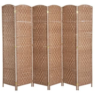 5be40f63cf4b Buy Brown Room Dividers   Decorative Screens Online at Overstock ...