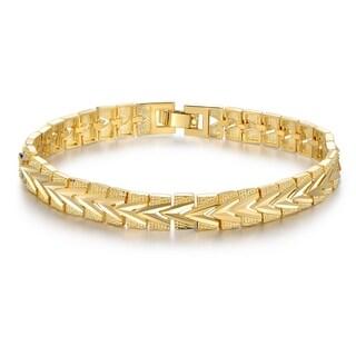 Gold Chevron Bracelet