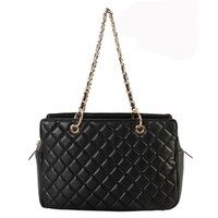 5efb1115c8f2cd Shop Michael Kors Cindy Large Dome Crossbody Quilted Costa Lamb 18K ...