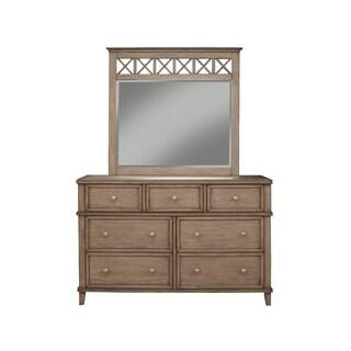 Alpine Furniture Potter 7 Drawer Dresser