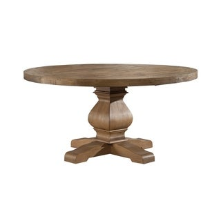 Link to Alpine Furniture Kensington Natural FInish Pine Round Dining Table Similar Items in Dining Room & Bar Furniture