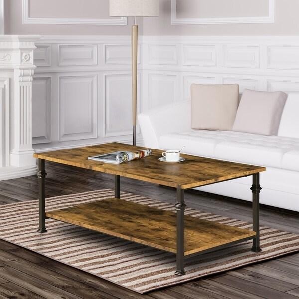 Carbon Loft Baryshnikov 2-tier Coffee Table
