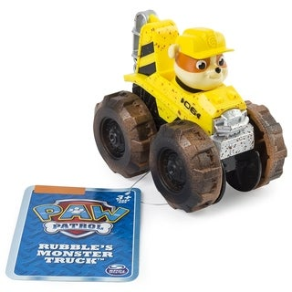 Paw Patrol Rescue Racers - Rubble's Monster truck