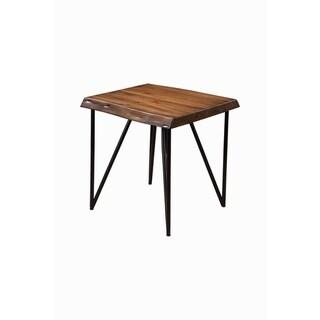 Alpine Furniture Live Edge End/Lamp Table